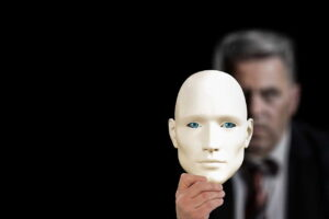 Маска, Бизнесмен, Кауфман, Второй, Лицо, Психология